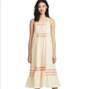 FREE PEOPLE Another Love Smoked Midi Dress RRP$128